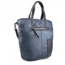 modrá kabelka s nápisy TENDENZ FFW18-086