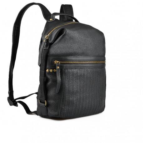 dámský černý batoh TENDENZ FFW18-045