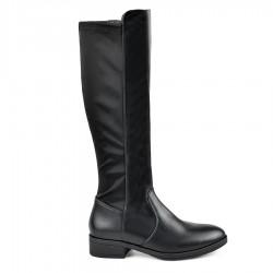 černé vysoké kozačky nad kolena Tendenz MIW18-022