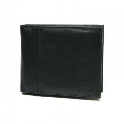 pánská kožená černá peněženka PW-521