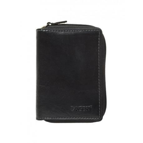 kožené černé pouzdro na kreditní karty 5015/T