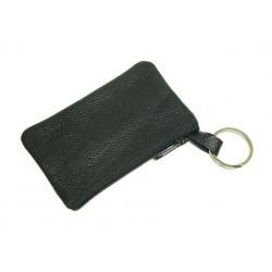 kožená černá klíčenka K-2