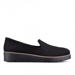 černá slip-on obuv TENDENZ QMS19-049