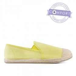 žlutá slip-on obuv TENDENZ QMS19-053