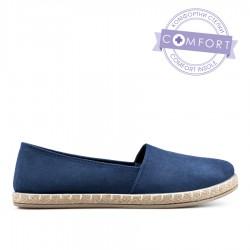 modrá slip-on obuv TENDENZ QMS19-056