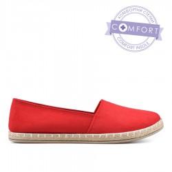 červená slip-on obuv TENDENZ QMS19-056