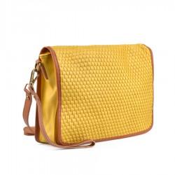 žlutá crossbody kabelka TENDENZ FFS19-044