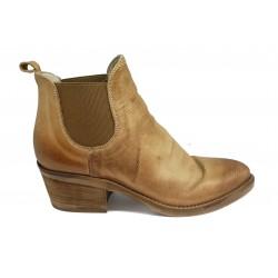 cuoio kožená jarní italská kotníková obuv Piranha Italia 343