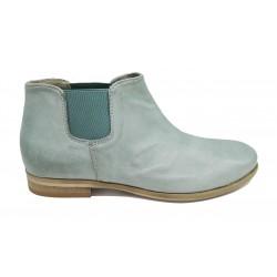 modrá kožená jarní italská kotníková obuv Piranha Italia 24L
