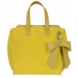 žlutá kabelka  GROSSO V18SM098