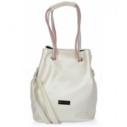 světle béžová (panna) kabelka  GROSSO V18SM100