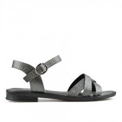 černé sandálky TENDENZ TYS19-012