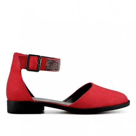 červené sandálky TENDENZ XXS19-031