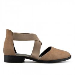 světle hnědé sandálky TENDENZ XXS19-033