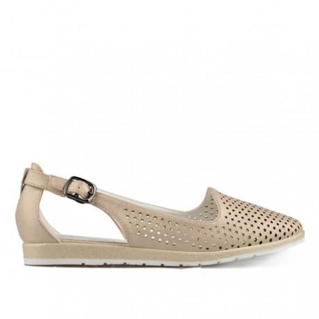 zlaté sandálky TENDENZ XXS19-036