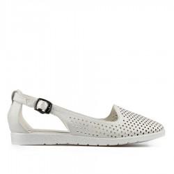 bílé sandálky TENDENZ XXS19-036