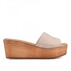 béžové pantofle TENDENZ IRS19-004
