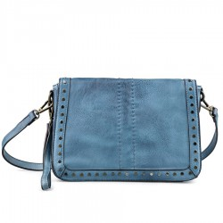 modrá crossbody kabelka TENDENZ FFS19-007