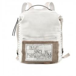 bílý batoh s nápisy TENDENZ FFS19-106