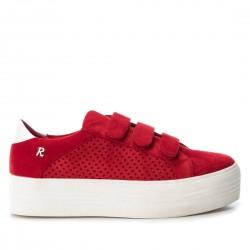 červené tenisky na platformě REFRESH 69712