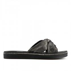 černé pantofle Tendenz TYS19-024