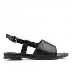 černé sandálky TENDENZ TYS19-009