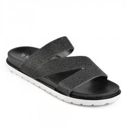 černé pantofle TENDENZ DGS19-002