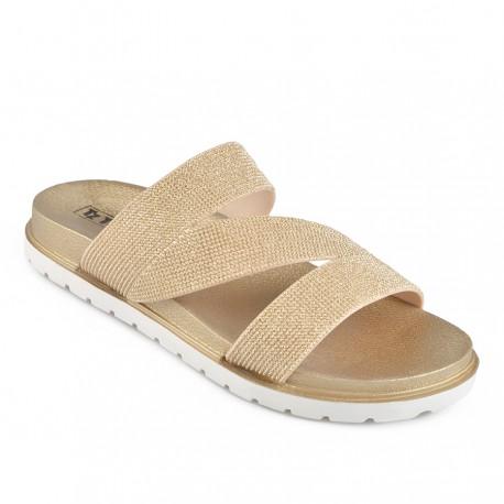 zlaté pantofle TENDENZ DGS19-002