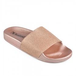 růžové pantofle TENDENZ DGS19-008