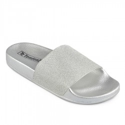 silver pantofle TENDENZ DGS19-008