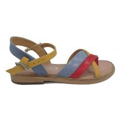 barevné sandály INDIGO SHOES 15102