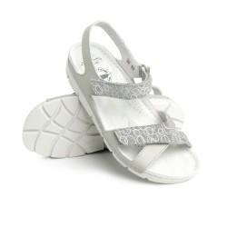zdravotní šedé kožené sandály BATZ Toledo