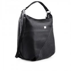 černá kabelka se cvočkami TENDENZ FFS19-094