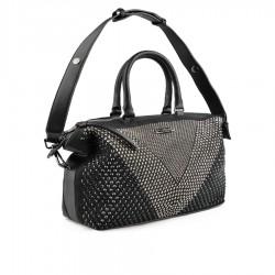 černá kabelka s kamínky TENDENZ FFS19-120