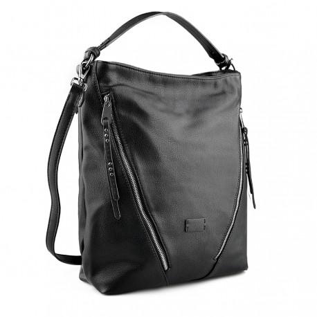 černá kabelka TENDENZ FFW19-055