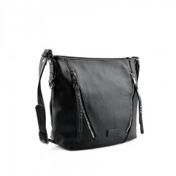 černá kabelka TENDENZ FFW19-056