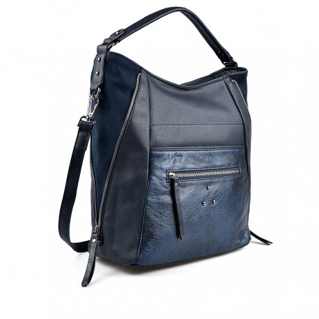 tmavě modrá kabelka TENDENZ FFW19-079