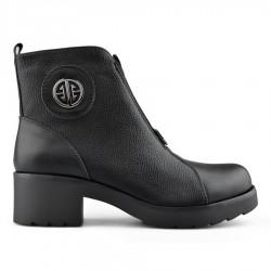 černá kotníková obuv Tendenz REW19-036