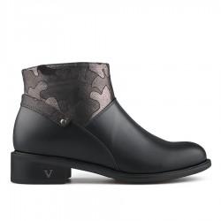 černá stylová kotníková obuv Tendenz REW19-047