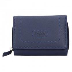 dámská tmavě modrá kožená peněženka BLC/4230