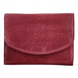 dámská kožená fialová (plum) peněženka LG-2522/D