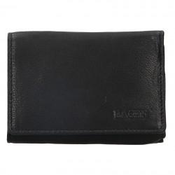 dámská černá kožená peněženka LM-2520/E