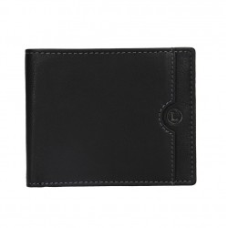 pánská černá kožená peněženka BLC/4231