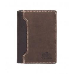 pánská hnědá kožená peněženka V-71
