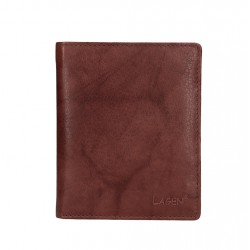 pánská hnědá kožená peněženka 1108/L