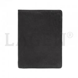 pánská černá kožená peněženka 2103E