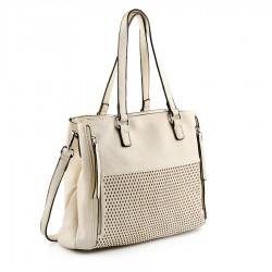 béžová kabelka Tendenz FFS20-015