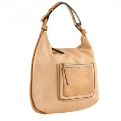 béžová kabelka Tendenz FFS20-039