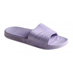 fialové pantofle Rock spring Nude