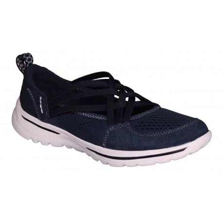 tmavě modrá kožená slip-on obuv Rock spring Laredo